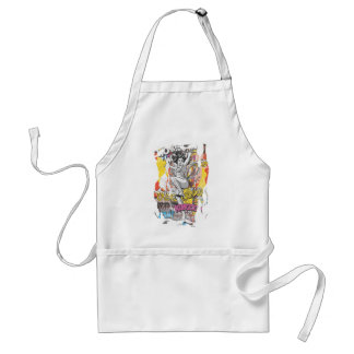 Wonder Woman Collage 1 Standard Apron
