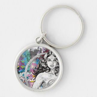 Wonder Woman Collage 6 Key Ring