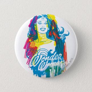 Wonder Woman Colorful 1 6 Cm Round Badge