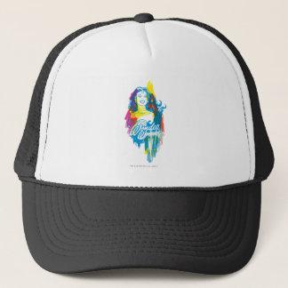 Wonder Woman Colorful 1 Trucker Hat