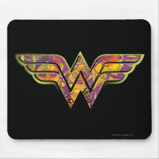 Wonder Woman Colorful Logo Mouse Mat