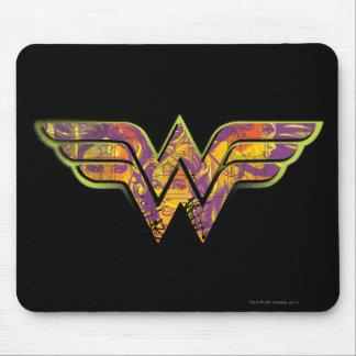 Wonder Woman Colorful Logo Mouse Pad