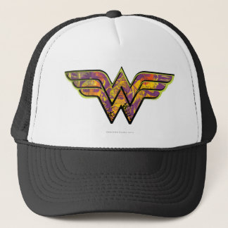 Wonder Woman Colorful Logo Trucker Hat