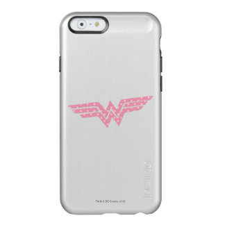Wonder Woman Colorful Pink Floral Logo Incipio Feather® Shine iPhone 6 Case