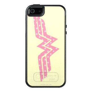 Wonder Woman Colorful Pink Floral Logo OtterBox iPhone 5/5s/SE Case