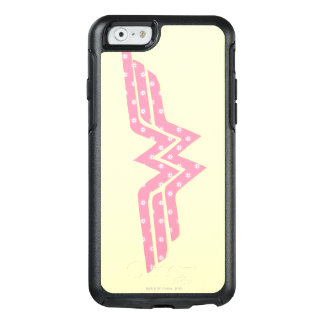 Wonder Woman Colorful Pink Floral Logo OtterBox iPhone 6/6s Case