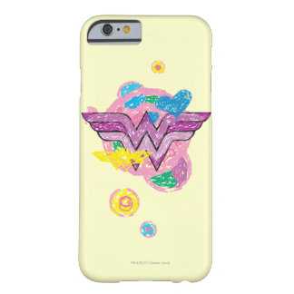 Wonder Woman Colorful Scribbles Barely There iPhone 6 Case