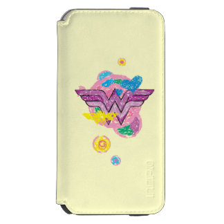 Wonder Woman Colorful Scribbles Incipio Watson™ iPhone 6 Wallet Case
