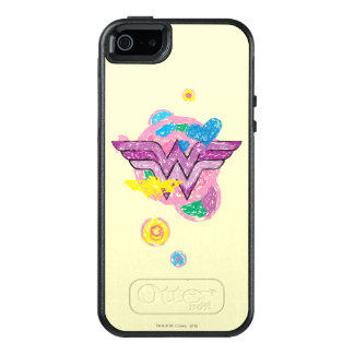 Wonder Woman Colorful Scribbles OtterBox iPhone 5/5s/SE Case