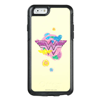 Wonder Woman Colorful Scribbles OtterBox iPhone 6/6s Case