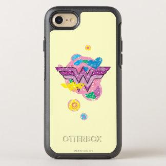 Wonder Woman Colorful Scribbles OtterBox Symmetry iPhone 8/7 Case