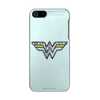 Wonder Woman Colorful Sketch Logo Incipio Feather® Shine iPhone 5 Case