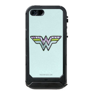 Wonder Woman Colorful Sketch Logo Incipio ATLAS ID™ iPhone 5 Case
