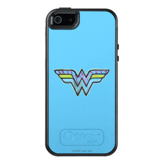 Wonder Woman Colorful Sketch Logo OtterBox iPhone 5/5s/SE Case