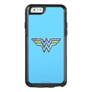 Wonder Woman Colorful Sketch Logo OtterBox iPhone 6/6s Case