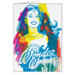 Wonder Woman Colourful 1 Cards