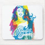 Wonder Woman Colourful 1 Mousemat