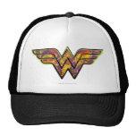 Wonder Woman Colourful Logo