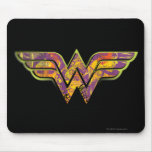 Wonder Woman Colourful Logo Mouse Pad