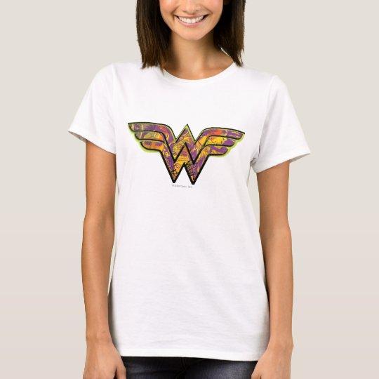 Wonder Woman Colourful Logo T-Shirt