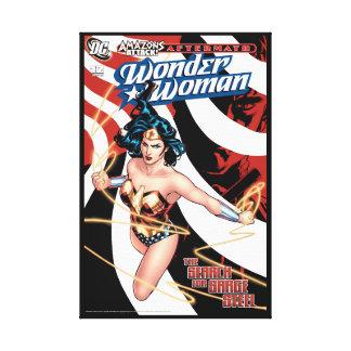 Wonder Woman Comic Cover #12 Canvas Print
