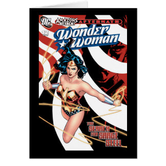 Wonder Woman Comic Cover #12 Card