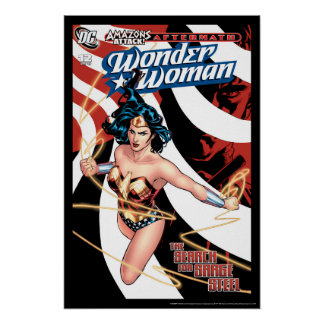 Wonder Woman Comic Cover #12 Poster