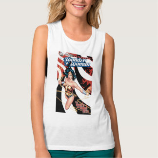 Wonder Woman Comic Cover #12 Tank Top