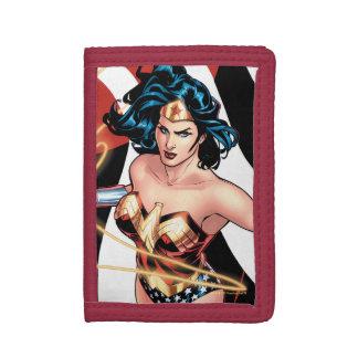 Wonder Woman Comic Cover #12 Tri-fold Wallets