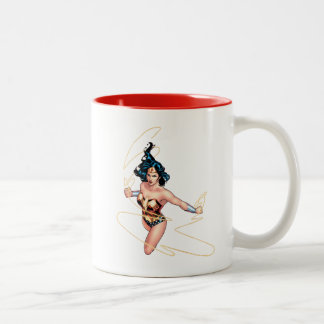 Wonder Woman Comic Cover #12 Two-Tone Coffee Mug