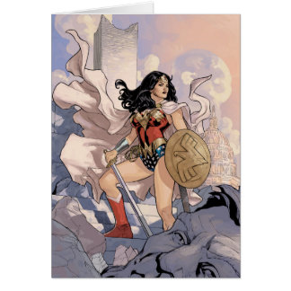 Wonder Woman Comic Cover #13 Card