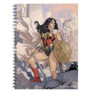 Wonder Woman Comic Cover #13 Notebook