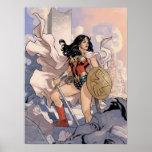 Wonder Woman Comic Cover #13 Poster