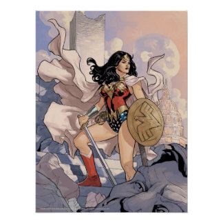 Wonder Woman Comic Cover #13 Poster