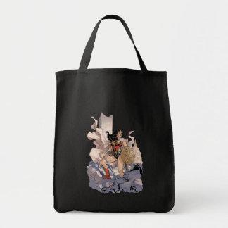 Wonder Woman Comic Cover #13 Tote Bag