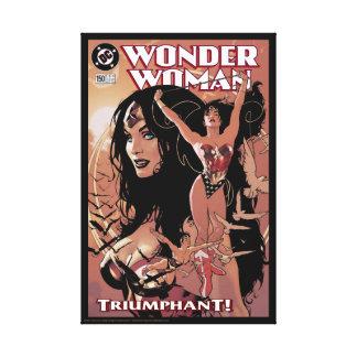 Wonder Woman Comic Cover #150: Triumphant Canvas Print