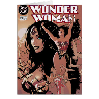 Wonder Woman Comic Cover #150: Triumphant Card