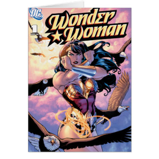 Wonder Woman Comic Cover #1 Card