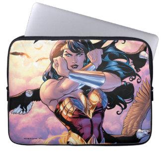 Wonder Woman Comic Cover #1 Laptop Sleeves