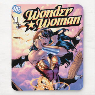Wonder Woman Comic Cover #1 Mouse Mat