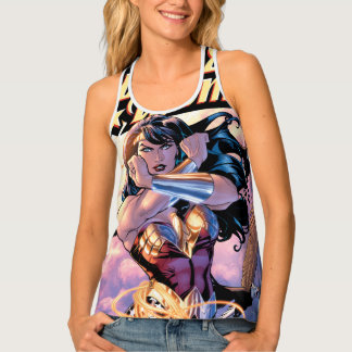 Wonder Woman Comic Cover #1 Tank Top