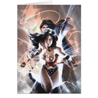 Wonder Woman Comic Cover  #609 Variant Card