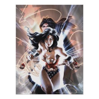 Wonder Woman Comic Cover  #609 Variant Poster