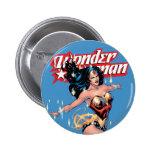 Wonder Woman Comic Cover 6 Cm Round Badge