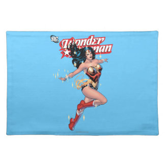 Wonder Woman Comic Cover Placemat