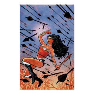 Wonder Woman Cover #1 Poster