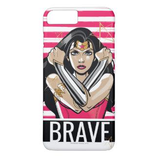 Wonder Woman Defend - Template iPhone 8 Plus/7 Plus Case