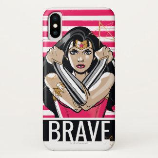 Wonder Woman Defend - Template iPhone X Case