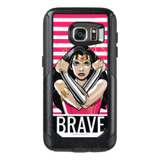 Wonder Woman Defend - Template OtterBox Samsung Galaxy S7 Case