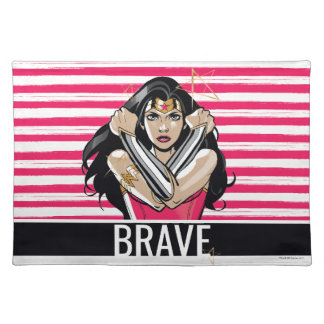 Wonder Woman Defend - Template Placemat